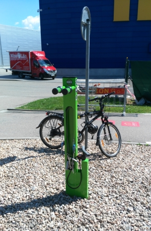 AVION Brno servisny cyklostojan Mantis